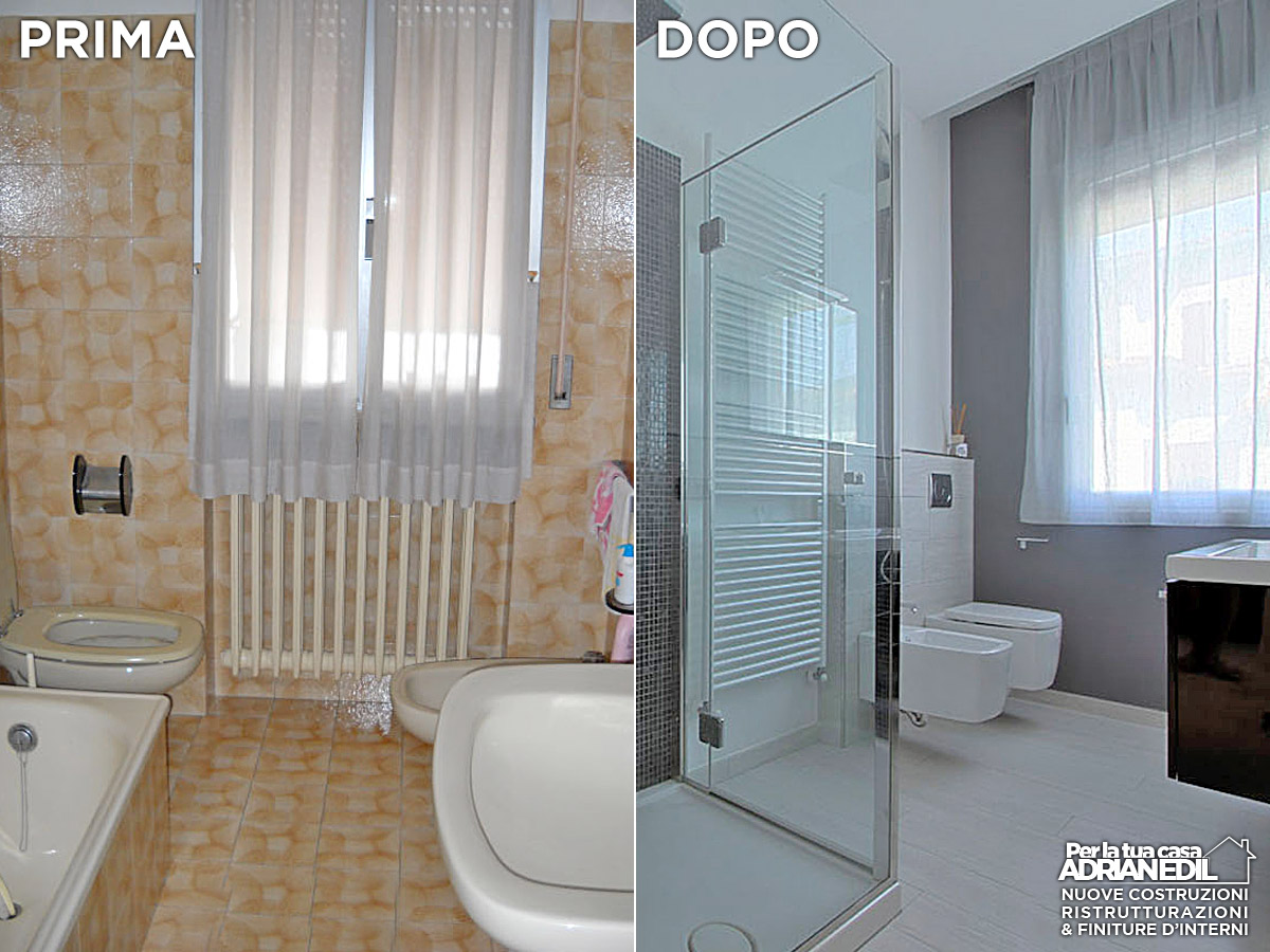 Esempi ristrutturazione bagno - Preventivo per rifacimento bagno ...